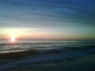 Sandbridge sunrise 1022